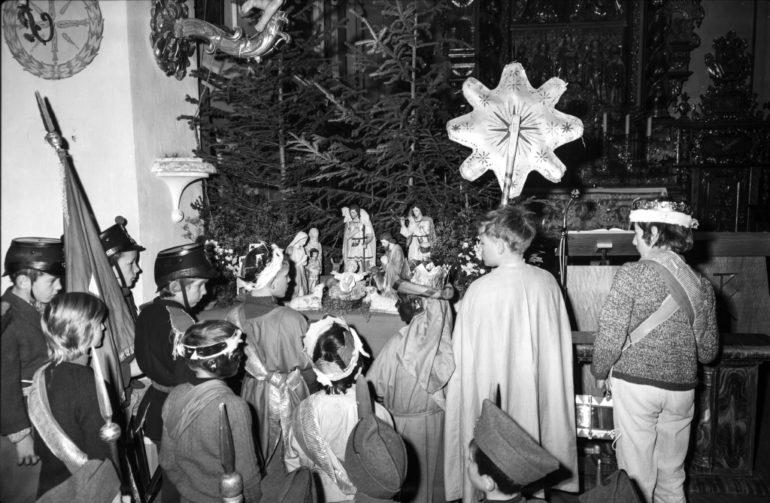 Sternensinger in Alvaneu, Silvesterbrauch